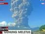 Извержение вулкана в Индонезии