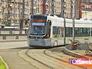 Новый трамвай на маршруте