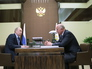 Владимир Путин и губернатор Самарской области Николай Меркушкин