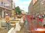 Строительство пешеходной зоны на Пятницкой улице