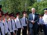 Сергей Собянин во время посещения Первого московского кадетского корпуса