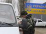 Пропускной пограничный пункт на украинско-российской границе