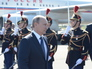 Рабочий визит президента РФ Владимира Путина во Францию