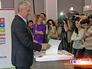 Сергей Собянин на избирательном участке