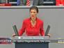 Вице-председатель Левой партии Сара Вагенкнехт
