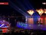 Праздничный салют ко Дню России в Ялте