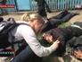 Захваченные бойцы народного ополчения Мариуполя