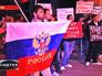 Митинг у посольства Украины в Москве