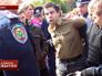 Украинская милиция задерживает митингующих