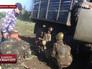 Украинские военнослужащие в Донецкой области