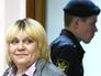 Наталья Дынькова в зале суда