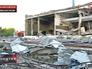 Разрушения после пожара на Ачинском НПЗ