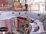 Монтаж генератора Гоцатлинской ГЭС