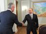 Рабочая встреча Сергея Собянина с Владимиром Путиным