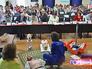"""Фельдшер скорой помощи во время участия в городском конкурсе """"Московские мастера"""""""