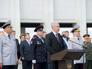 Сергей Собянин во время торжественной церемонии вручения знамени ГУВД по городу Москве