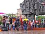 Митинг у мемориала погибшим в ВОВ