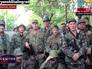 Бойцы народного ополчения в Донецке