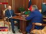 Президент России Владимир Путин и глава Курчатовского института ядерные технологии Михаил Ковальчук