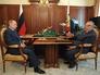 Президент РФ Владимир Путин встретился с лидером ЛДПР Владимиром Жириновским