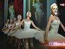 Балерины готовятся к выступлению