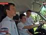Дети из многодетной семьи в машине подаренной правительством Крыма