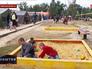 Палаточный лагерь беженцев с Украины в Ростовской области