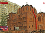 """Храм в честь иконы Божией матерв районе """"Некрасовка"""""""