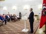 Мэр Москвы Сергей Собянин вручает награды москвичам