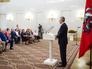 Сергей Собянин во время церемонии вручения государственных наград от имени Президента России