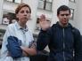 Украинские журналисты Анастасия Станко и Илья Бескоровайный
