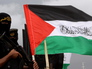 Бойцы палестинского движения ХАМАС