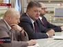 Петр Порошенко, Арсений Яценюк и Александр Турчинов