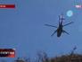 Вертолет в небе над Дагестаном