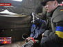 Украинский депутат-радикал Олег Ляшко допрашивает задержанного
