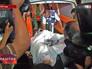 Скорая помощь увозит пострадавших от обстрела Сектора Газа