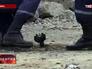 Последствия минометного обстрела на востоке Украины