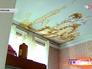 Следы протечки на потолке в квартире