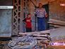 Жители дома в подвале
