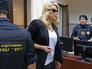 Евгения Васильева в зале суда