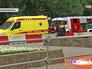 Машины пожарной и скорой помощи