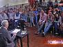 Студенты театральных вузов на встрече с Валентином Гафтом
