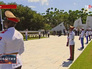 Российская делегация на возложении венков к мемориалу Советского воина-интернационалиста в Гаванне