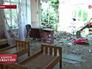 Детский сад на юго-востоке Украине после артобстрела