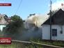 Последствия обстрела жилых районов в Донецке