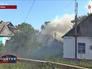 Место обстрела на Украине