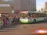 """Автобусный маршрут """"м"""" у станции метро """"Киевская"""""""