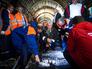 Сергей Собянин на месте трагедии в столичном метро