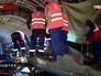 Ремонтные работы на месте аварии в метро