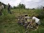 На месте крушения самолета Boeing 777 в Донецкой области